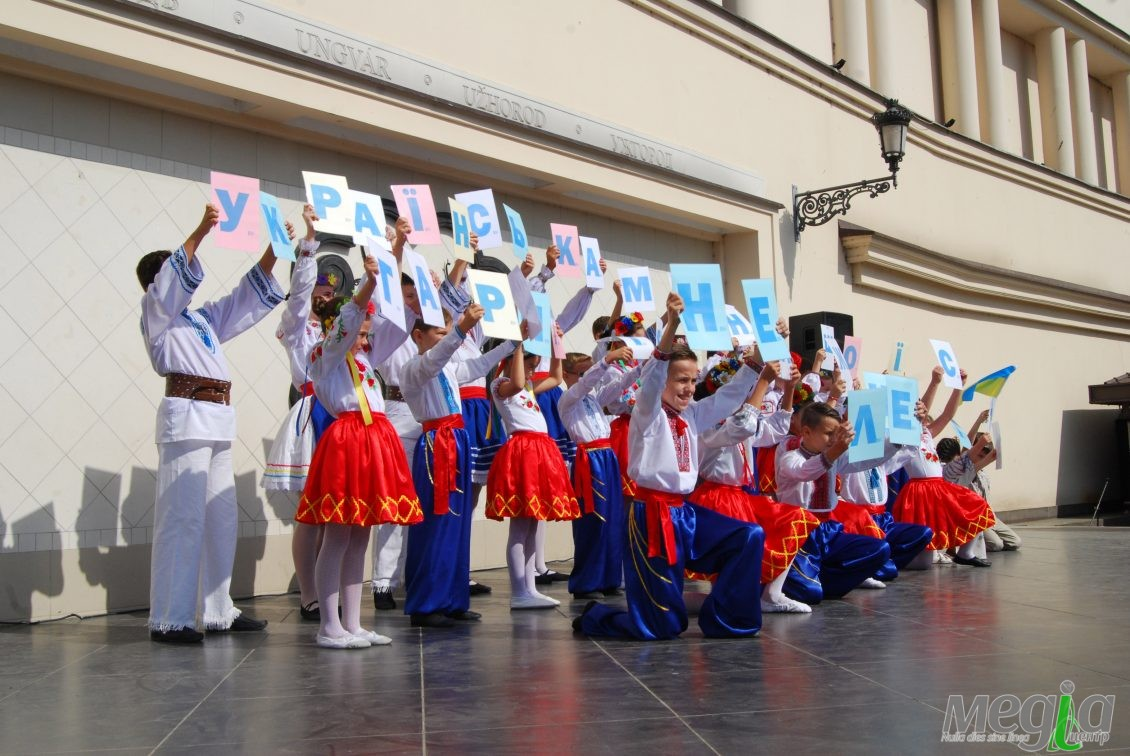 Флешмоб на підтримку української як державної