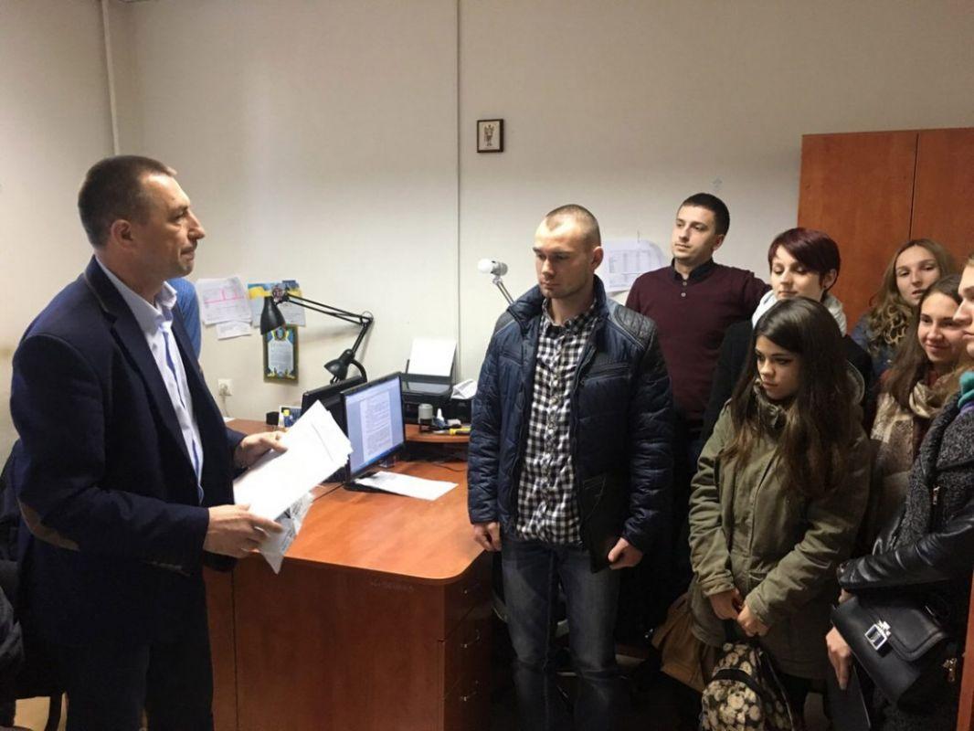 Четвертокурсники юрфаку знову навчалися в науково-дослідному експертно-криміналістичному центрі