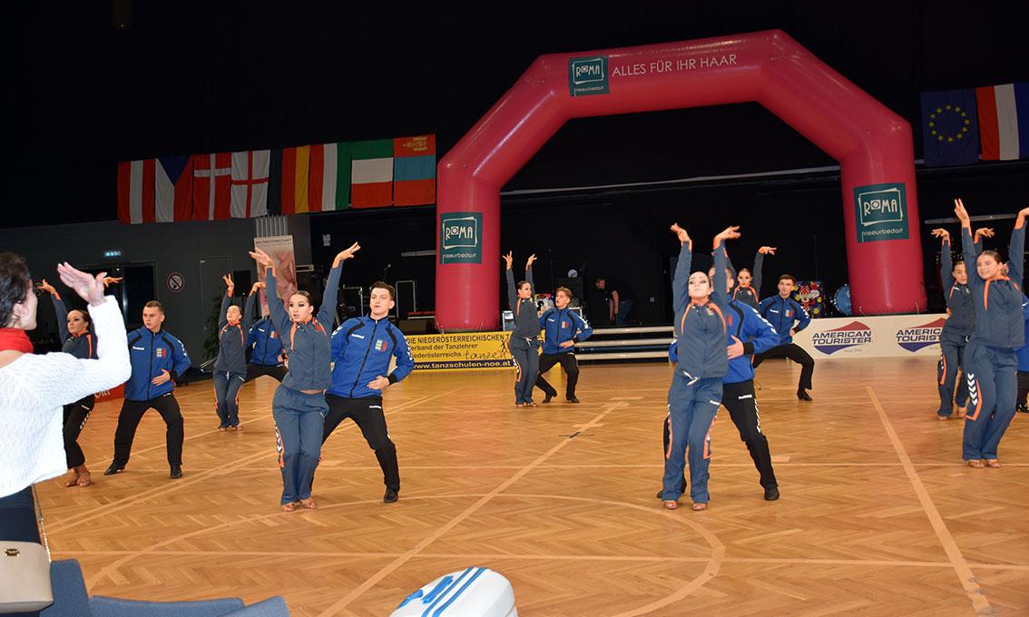 Танцювальний спорт: закарпатський слід австрійського чемпіонату світу