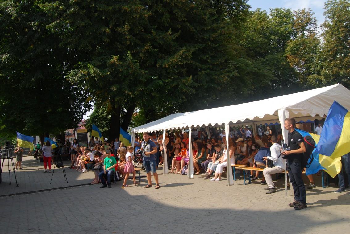 Глядачів на фестивалі не бракувало