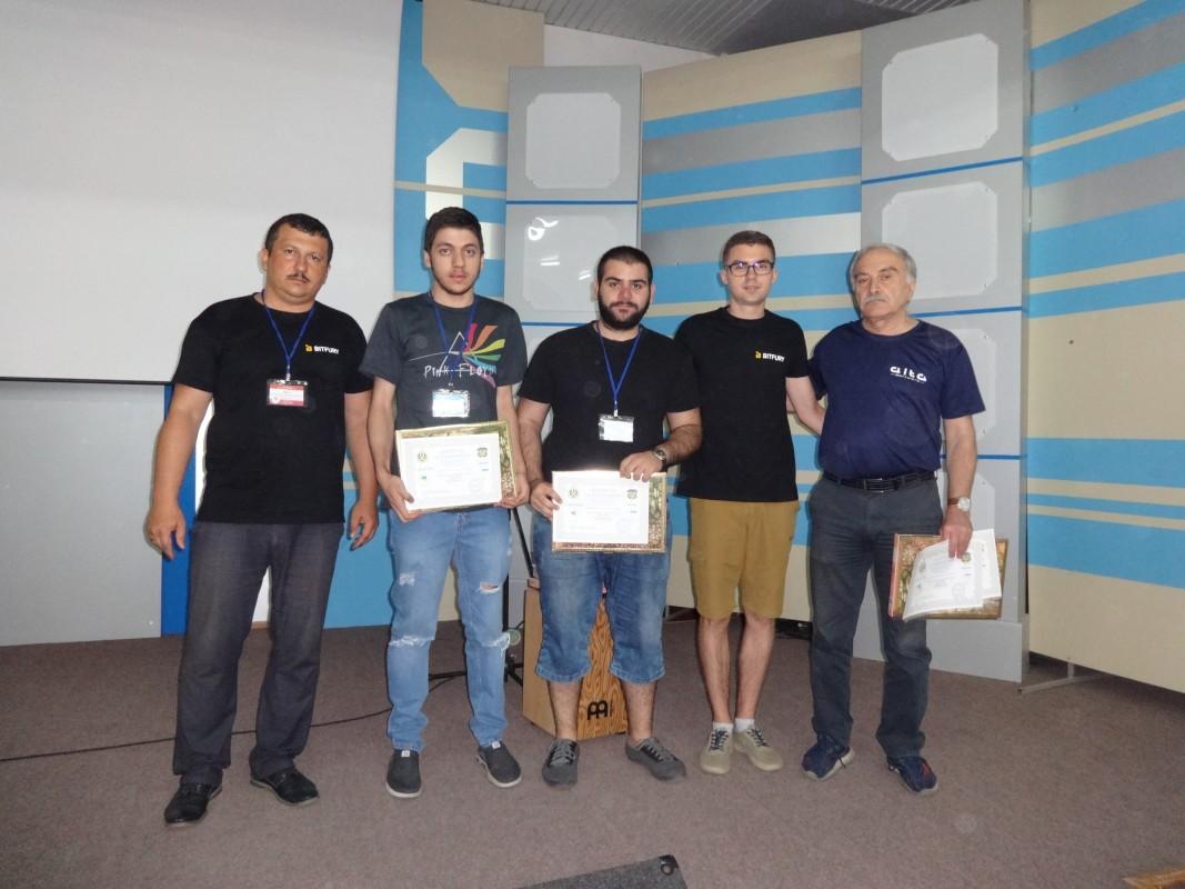 Нагороджені учасники з Грузії