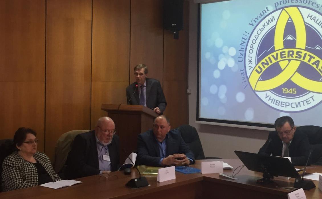Микола Вегеш - організатор конференції