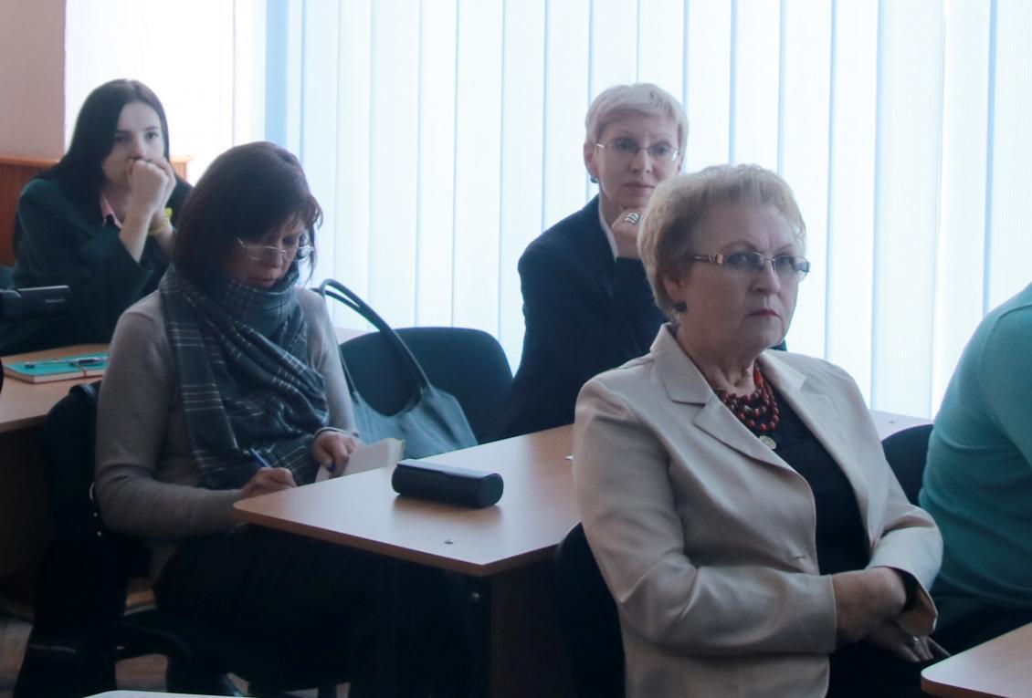 Ярослава Шебештян, Галина Шаповалова та Валентина Барчан