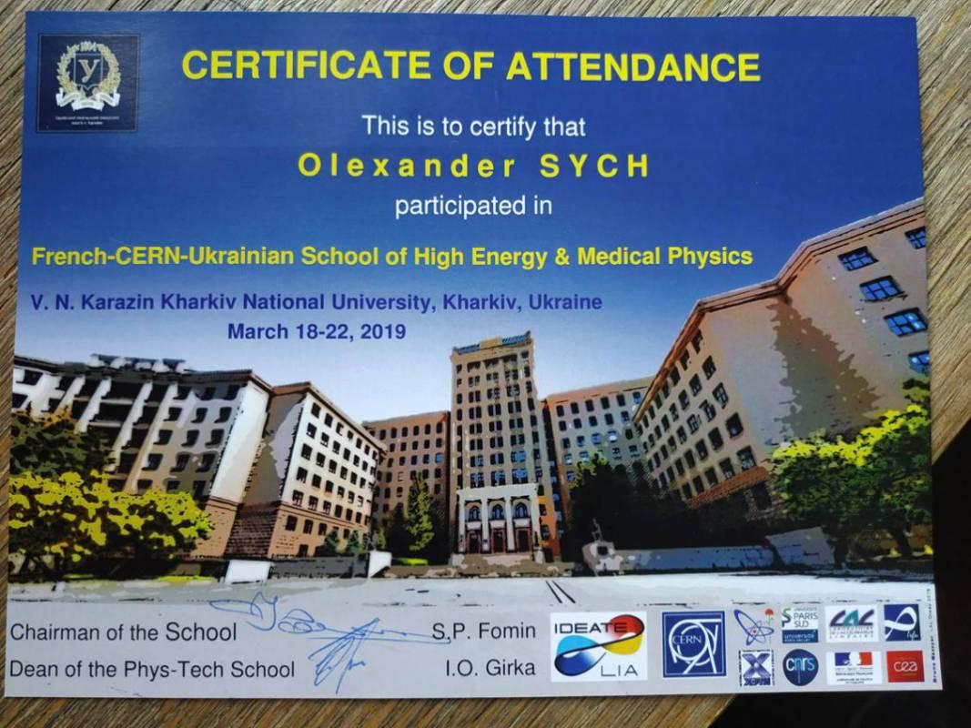 Дослідження студента фізфаку УжНУ на перетині ядерної фізики та екології довкілля високо оцінили закордонні вчені