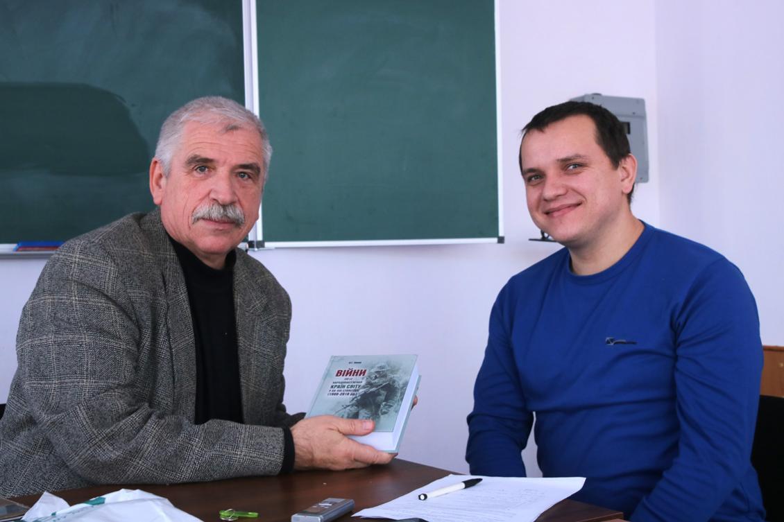 Олександр Лавер та Василь Шаркань