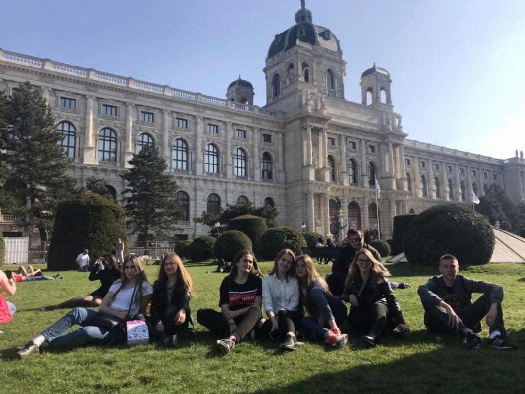 На площі Марії Терезії у Відні