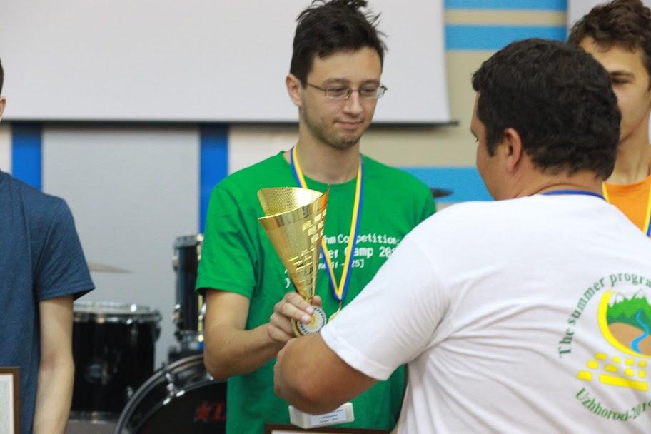 Вручення кубка переможцям І ліги