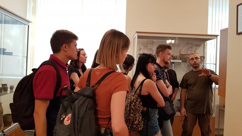 В Археологічному музеї ім. А. Балагурі