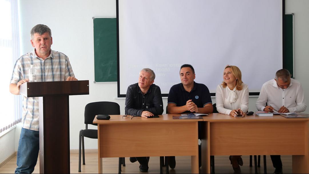 Доповідає Іван Ципердюк