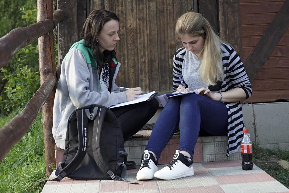 Моніка Касперська та Наталія Човрі