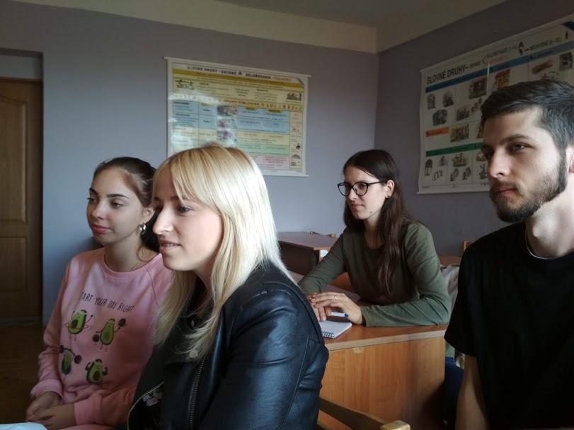 Маріанна Лепай, Ангеліна Угрин, Богдан Зілінець та Ольга Брайлян