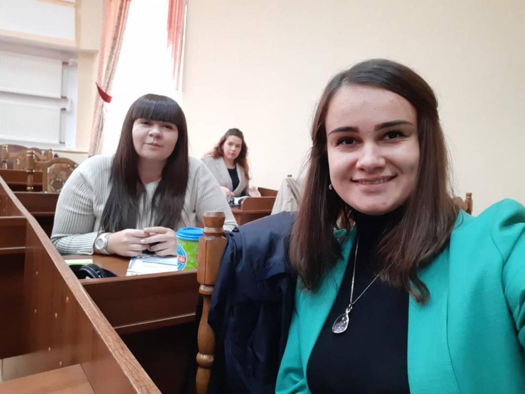 Марина Когут та Мирослава Зан