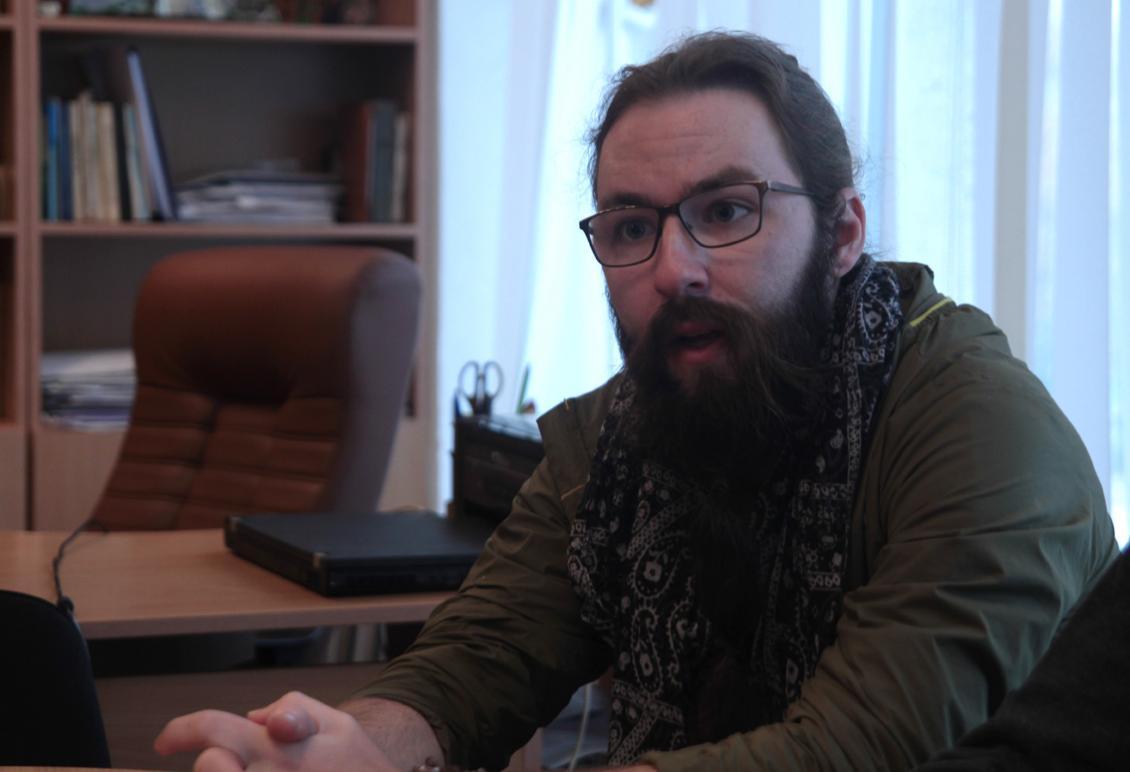 Американець Райлі Річардс про Ужгород, Україну, університет та студентів