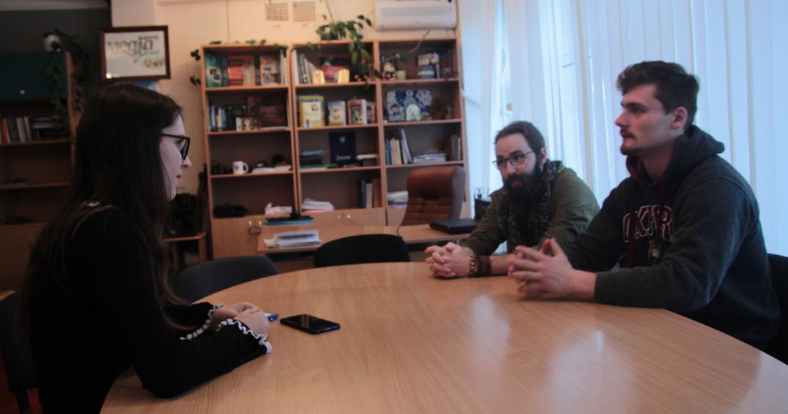 Під час інтерв'ю