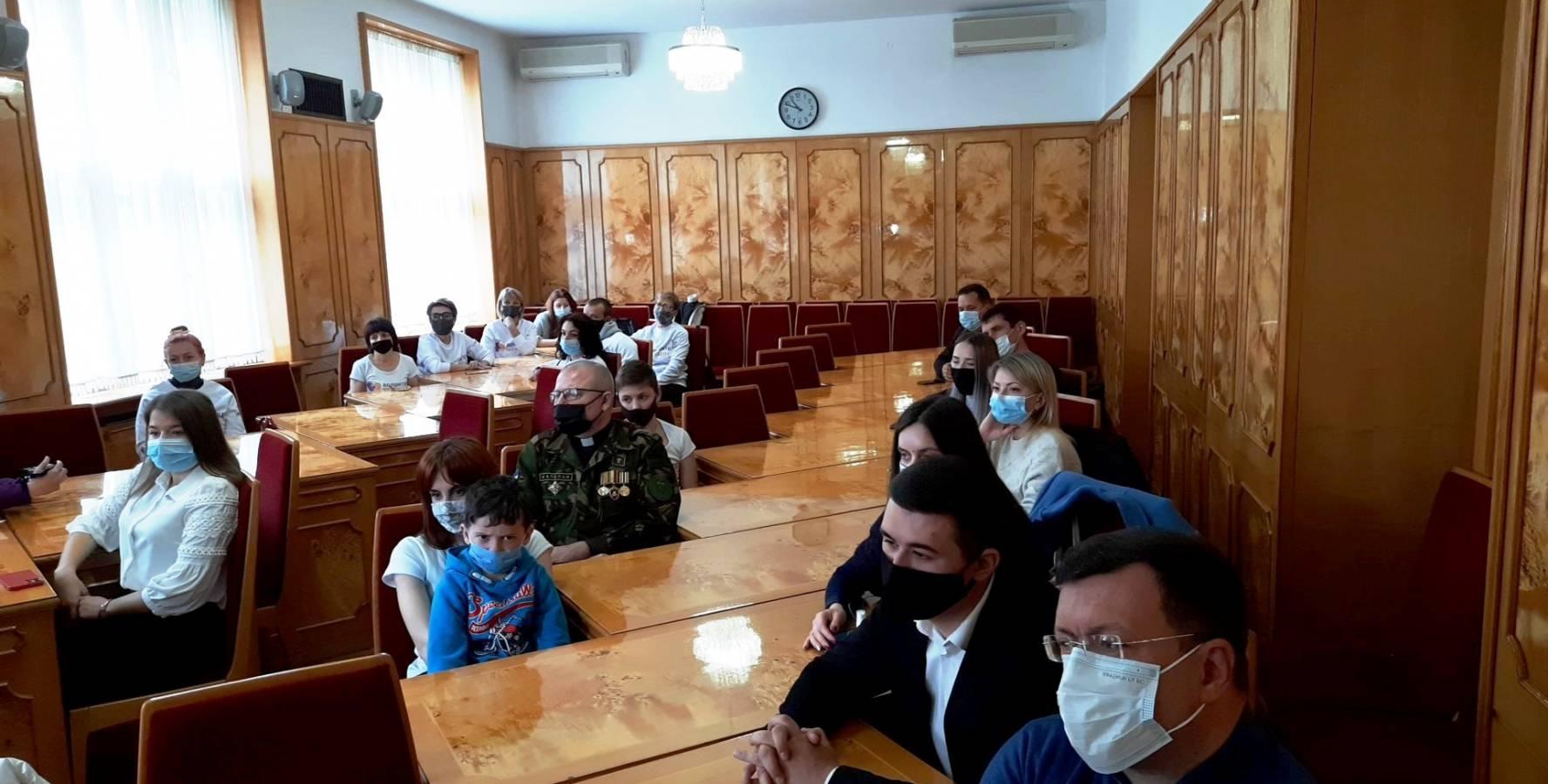 Перший на Закарпатті Волонтерський центр відкрили в Ужгороді