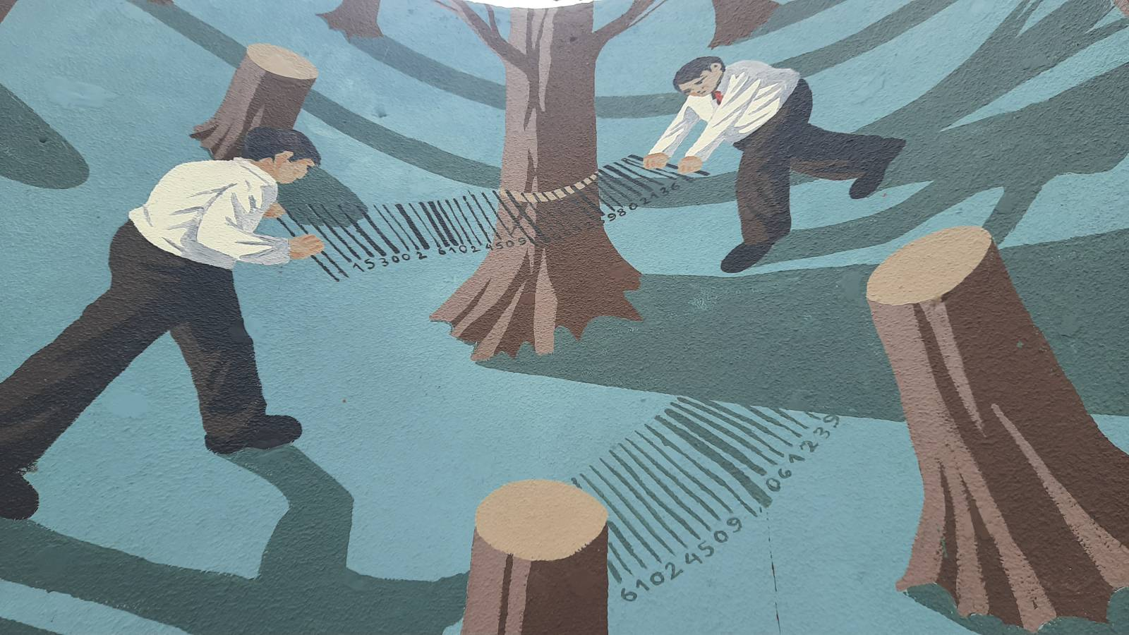 «Алея слави Закарпаття» і три мурали з'явилися у парку навпроти ректорату УжНУ