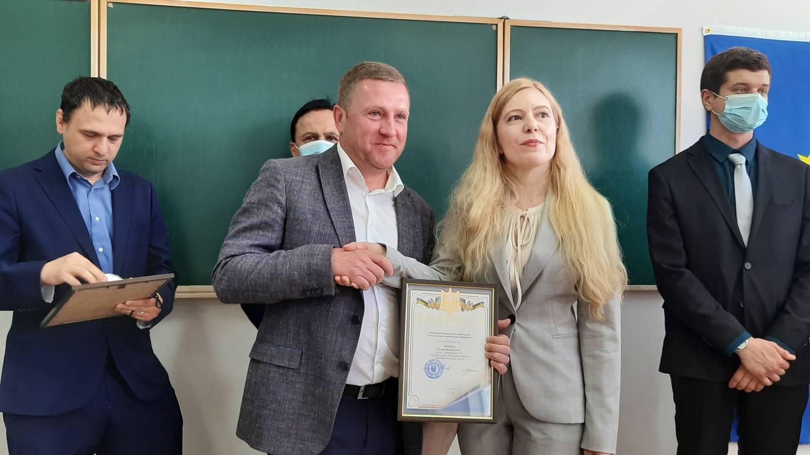 На факультеті міжнародних економічних відносин відкрили кабінет українсько-польської дружби