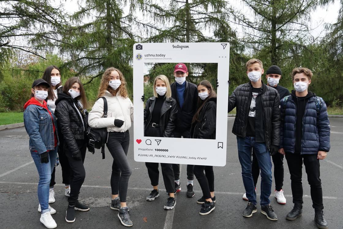 Ужнівці заклали парк до 75-ліття університету й долучилися до всеукраїнського рекорду
