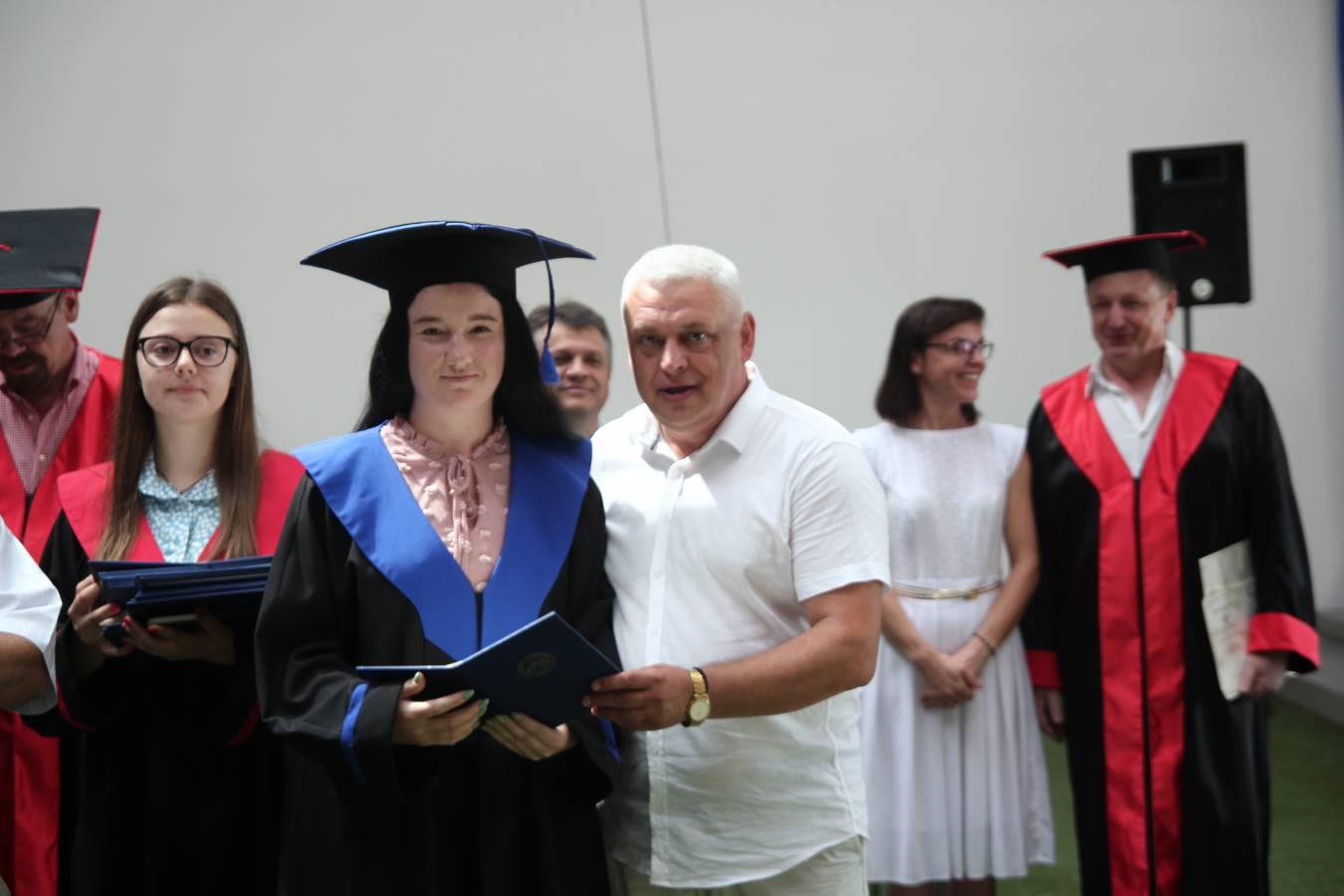 Понад 80 бакалаврів географічного факультету отримали свої дипломи