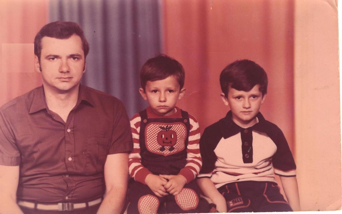 З синами Олександром та Владиславом