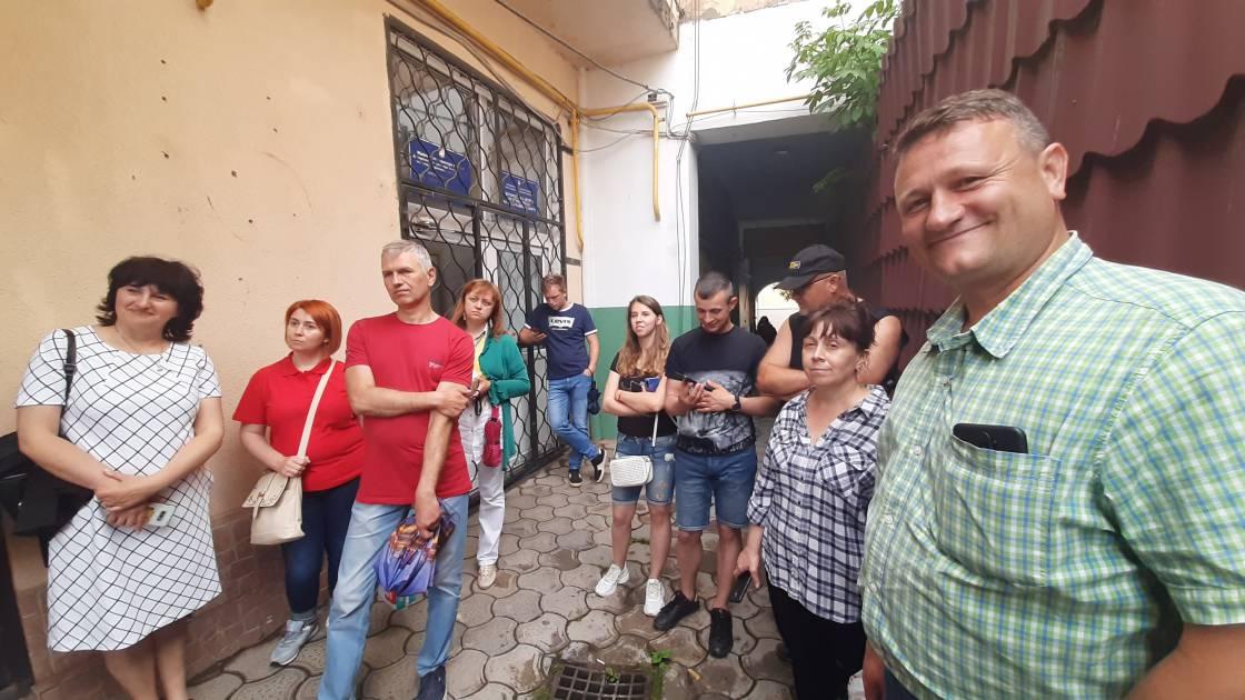 «А хто з вас екскурсовод?»: учасники курсів Україна-Норвегія провели свою першу екскурсію містом