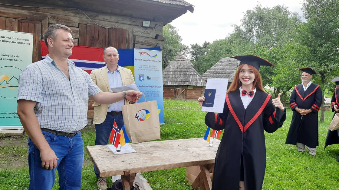Екскурсія може завершитися врученням дипломів, – доведено курсами Україна-Норвегія