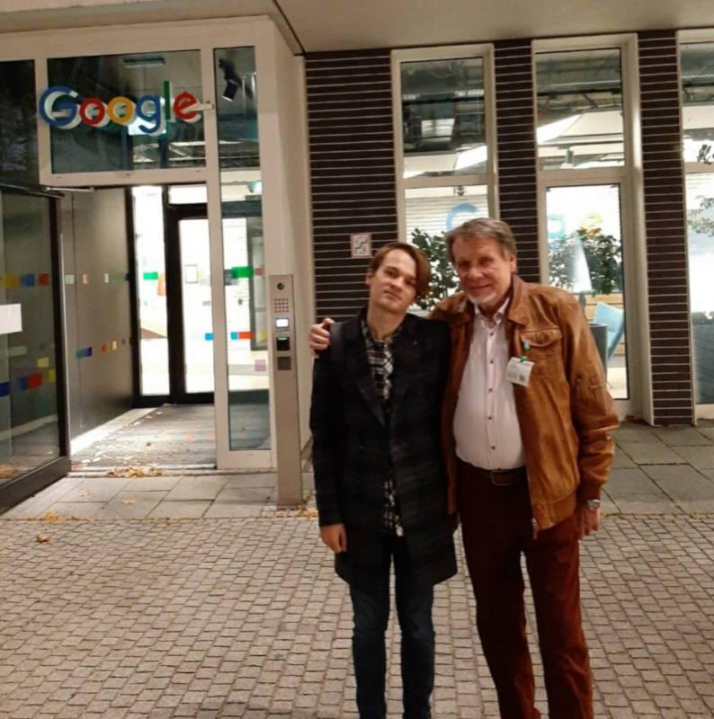 Двоє Потапчуків у Мюнхені