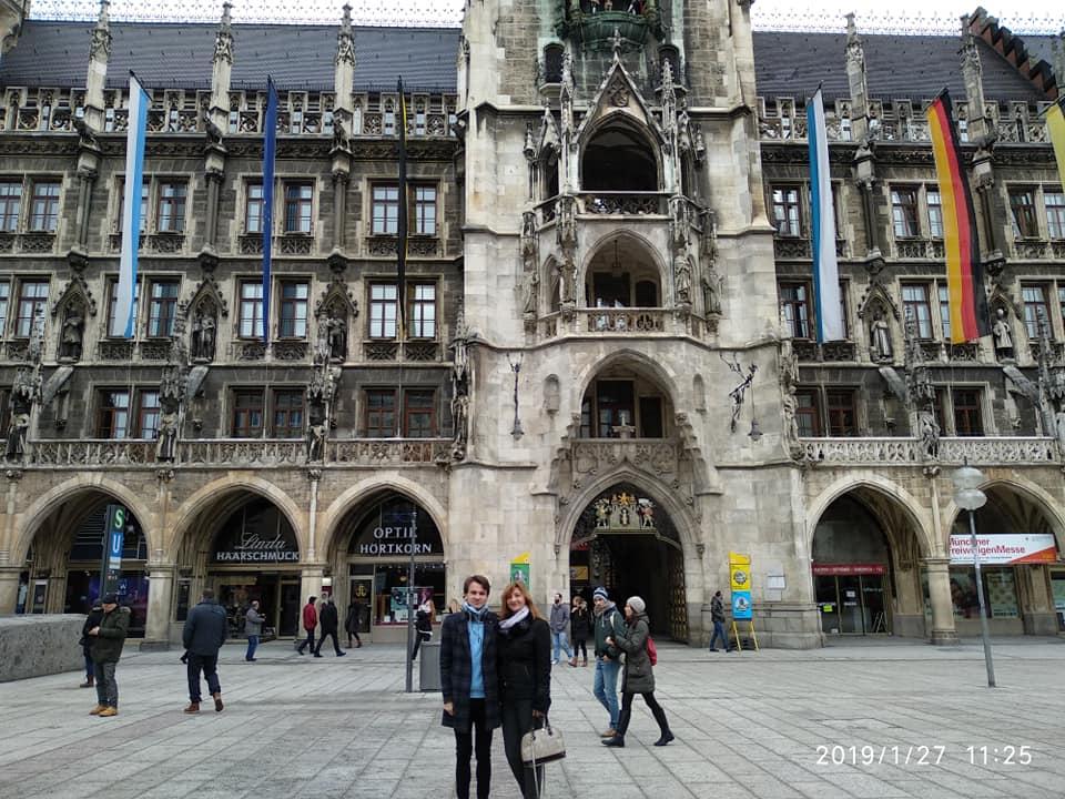 У Мюнхені з мамою