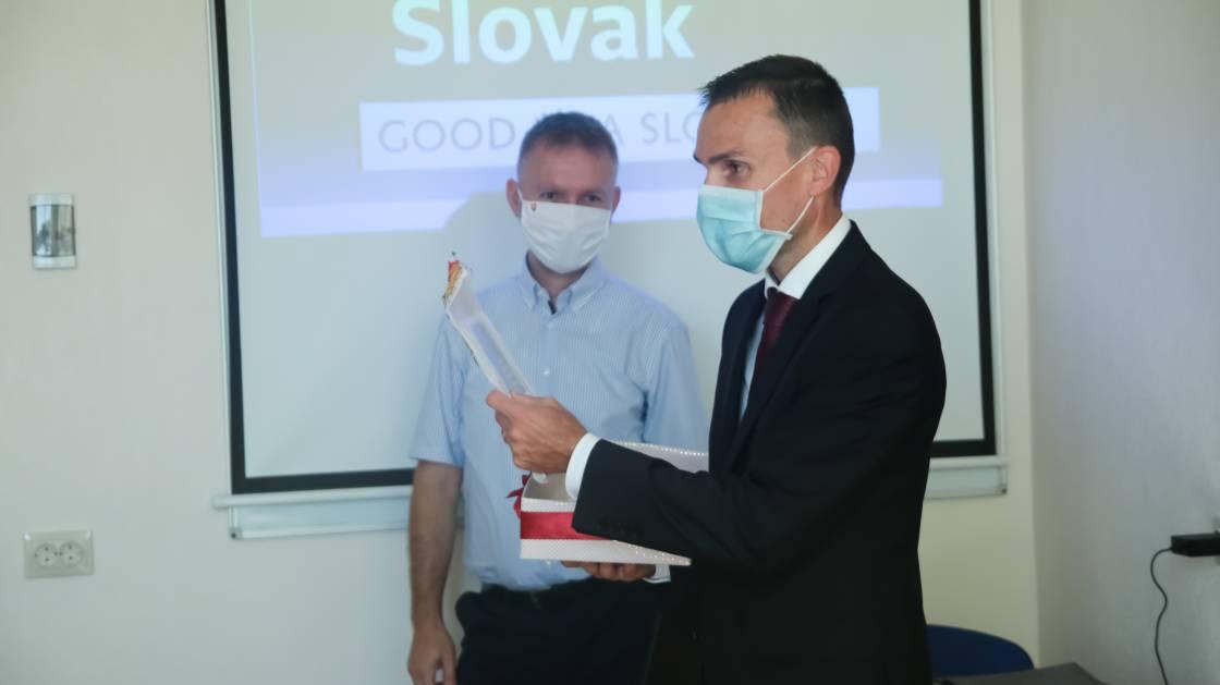 На філфаку урочисто відкрили реконструйовану авдиторію для словацького відділення
