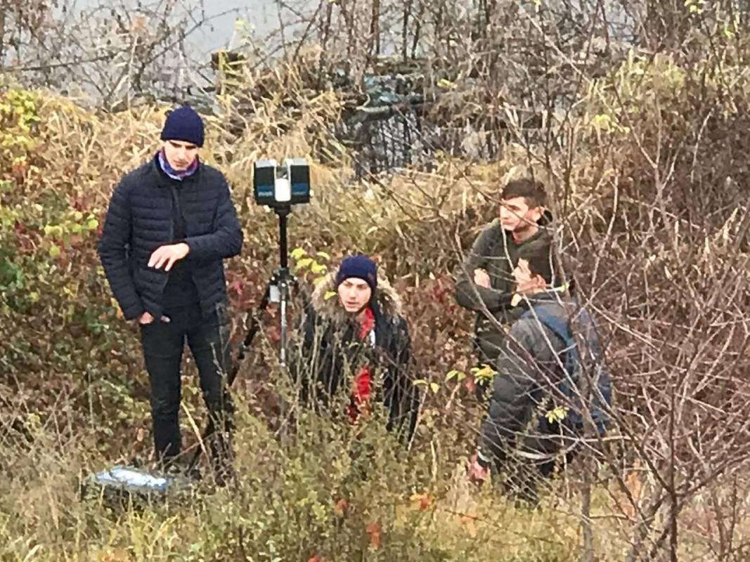 Ужнівці моніторили небезпечні зсувні процеси на території Солотвинського солерудника