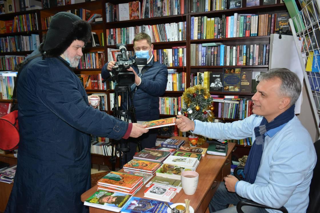 Сергій Федака та Олександр Гаврош