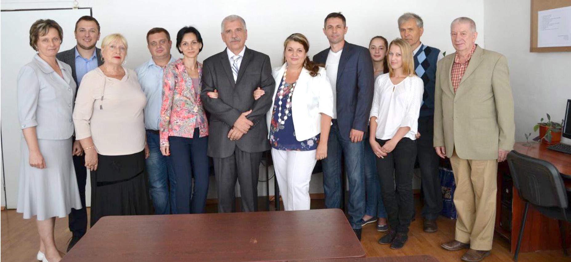 Олександр Лавер з колегами
