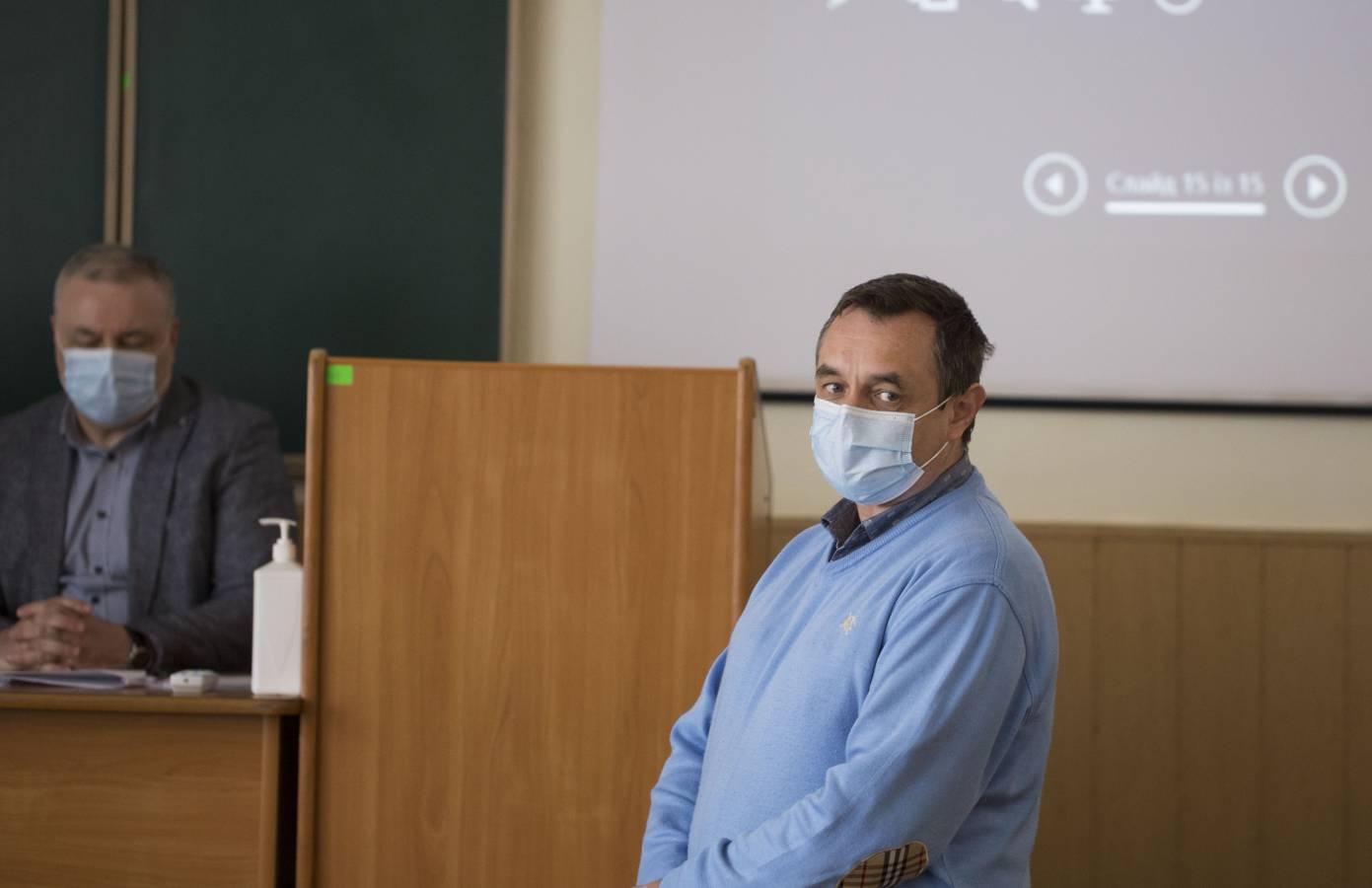 На біологічному факультеті обирали декана та обговорили низку питань з керівництвом вишу