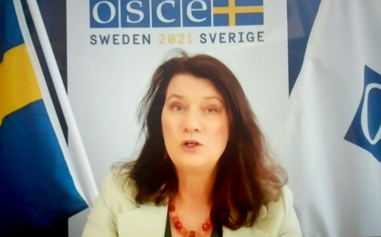 Ann Linde, OSCE Chairperson-in-Office, Minister for Foreign Affairs of Sweden