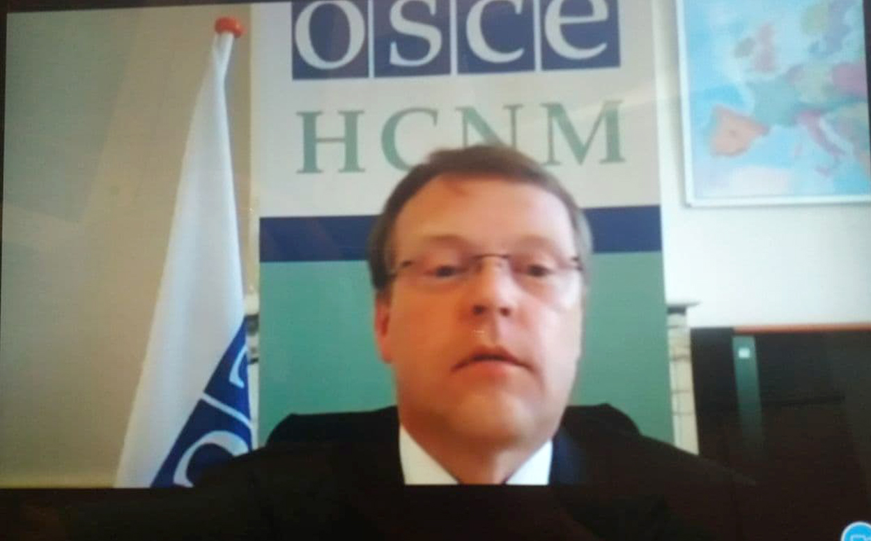 Christophe Kamp, Director of the office of the OSCE High Commissioner on National Minorities