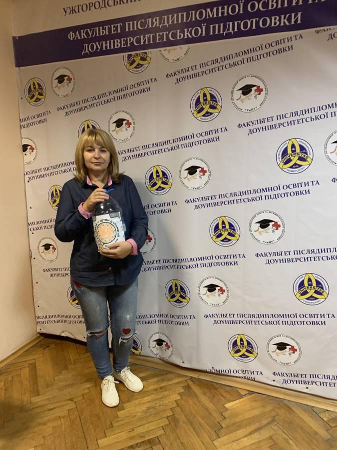 Близько 7 кілограмів монеток зібрали ужнівці у рамках благодійної акції «Монетки дітям»